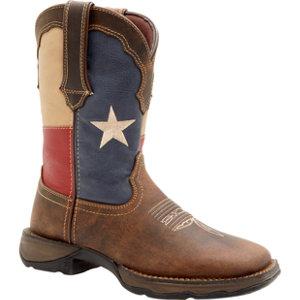 durango s rebel 10 in pull on flag boot