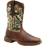 Durango Lady Rebel 10 in. Pull-On Boot, Camo, Brown/Mobu Infinity