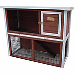 Advantek™ The Loft Rabbit Hutch, Auburn