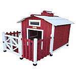 Advantek™ Country Barn Dog House
