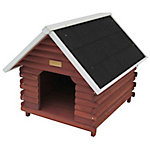 Advantek™ Mountain Cabin Dog House, Medium to Large Breed