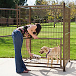 Advantek™ Aztec Gold Complete Modular Kennel, 4 ft. X 4 ft.