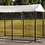 Advantek™ Aztec Gold 4 ft. x 8 ft. Kennel Cover