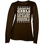 Country Girl® Ladies' Country Girls™ & Carburetor Long Sleeve Tee