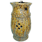Bond Cavalli 19 in. Table Top Ceramic Firebowl