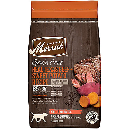 Merrick Grain Free Products