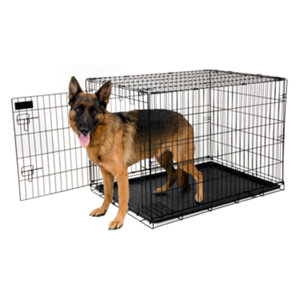 Petmate training retreat wire kennel 43 in for dogs 90 to 125 lb