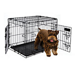 Petmate 2-Door Training Retreat Wire Kennel, 24 in., For Dogs 25 to 30 lb.