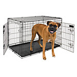 Petmate 2-Door Training Retreat Wire Kennel, 38 in., For Dogs 70 to 90 lb.