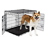 Petmate 2-Door Training Retreat Wire Kennel, 43 in., For Dogs 90 to 125 lb.