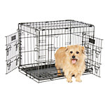 Petmate 2-Door Elite Retreat Wire Kennel, 24 in., For Dogs 25 to 30 lb.
