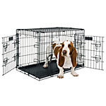Petmate 2-Door Elite Retreat Wire Kennel, 30 in., For Dogs 30 to 50 lb.
