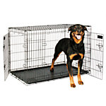 Petmate 2-Door Elite Retreat Wire Kennel, 43 in., For Dogs 90 to 125 lb.