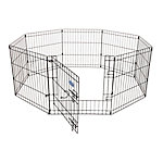 Petmate Exercise Pen with Door, 24 in. x 24 in., 8 Panels