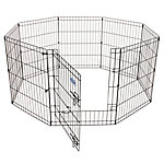 Petmate Exercise Pen with Door, 30 in. x 24 in., 8 Panels