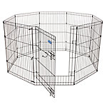 Petmate Exercise Pen with Door, 36 in. x 24 in., 8 Panels