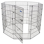 Petmate Exercise Pen with Door, 48 in. x 24 in., 8 Panels