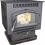 United States Stove Pedestal Model Stove with Corn/Pellet Burner