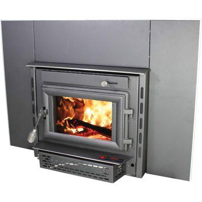 United States Stove Medium EPA Certified Wood Burning Fireplace Insert