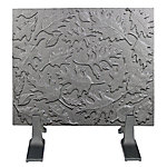HomComfort Leaves Cast Iron Fireback