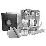 Dura-Vent 4 in. Pellet Vent Kit, Stainless