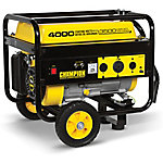 Champion Power Equipment™ 3,500W/4,000W Recoil Start Gasoline Powered Portable Generator