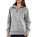 Carhartt® Ladies' Clarksburg Quarter Zip Sweatshirt