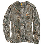 Carhartt® Men's Work Camo Long Sleeve T-Shirt