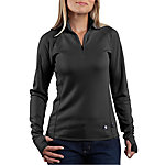 Carhartt® Ladies' Base Layer Quarter Zip Shirt