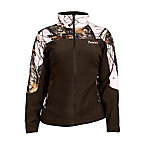 Rocky® Ladies' Fleece Jacket with Camo Accents, Mossy Oak Winter Break-Up
