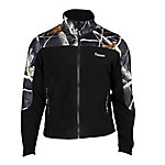 Rocky® Men's Fleece Zip Jacket with Camo Accents, Realtree APG Green