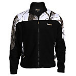 Rocky® Men's Fleece Zip Jacket with Camo Accents, Realtree Snow