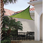 ShelterLogic Sun Shade Sail, Heavy Weight 16 ft. Triangle, Lime Green