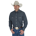 Wrangler® Men's Denim Premium Performance Work Shirt