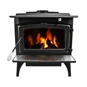 Pleasant Hearth EPA Certified Wood-Burning Stove with Variable Blower, 2,200 sq.ft.