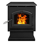 Pleasant Hearth 2,200 sq. ft. Pellet Stove with 80 lb. Hopper, 50,000 BTUs