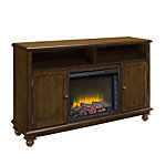 Pleasant Hearth Pearson 57 in. Media Heritage Electric Fireplace with Remote