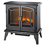Pleasant Hearth 24 in. Electric Stove, Matte Black