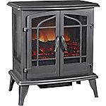 Pleasant Hearth Panoramic 'Vintage Iron' Electric Stove, 25 in. L