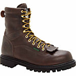 Georgia Men's 8 in. Waterproof Low Heel Logger Steel Toe Work Boot