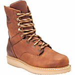Georgia Men's 8 in. Barracuda Gold Wedge Steel Toe Work Boot