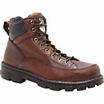 Georgia Men's 6 in. Eagle Light Wide Load Steel Toe Work Boot