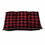 Retriever® Tufted Buffalo Plaid Pet Bed, 30 in. x 40 in.