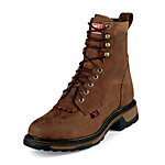 Tony Lama TLX Western Work Men's 8 in. Lace Up Boot, Briar Pitstop