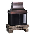 Bond Newbury Outdoor Wood Burning Fireplace