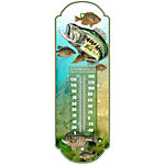 Springfield 17 in. Fish Metal Tube Thermometer
