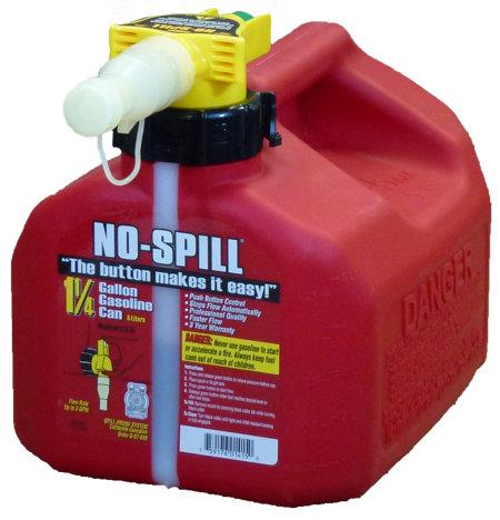 NO-SPILL 1.25 Gallon Gas Can - Tractor Supply Co.