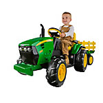 Peg Perego John Deere Ground Force Tractor and Trailer