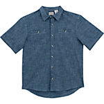 C.E. Schmidt® Men's Chambray Short Sleeve Work Shirt, Light Chambray Blue
