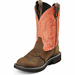 Justin Ladies' 8 in. Gypsy Boot, Barnwood Brown Cowhide